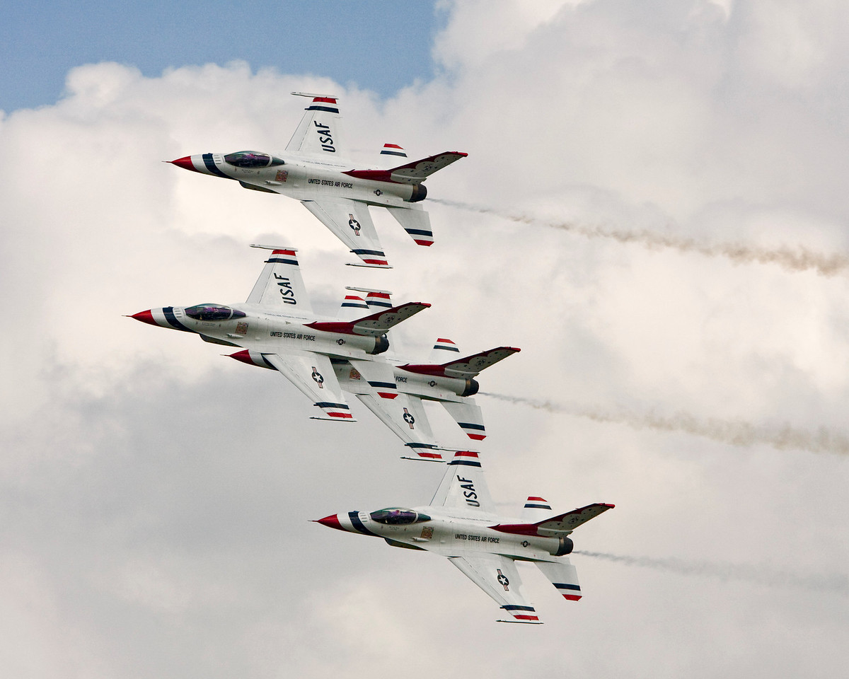 USAF Thunderbirds Diamond