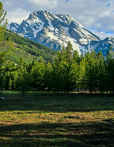 Mount Moran from String Lake